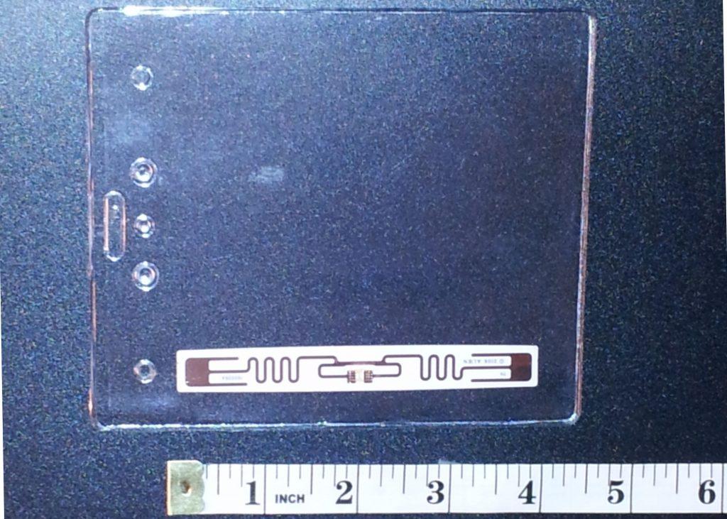 RFID badge holder